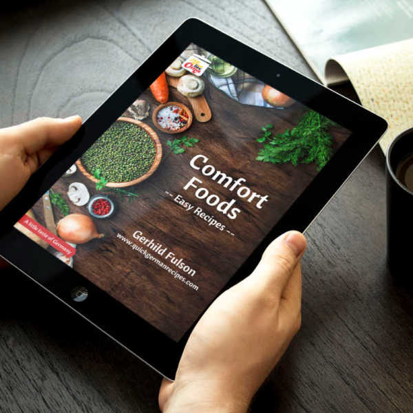 Comfort Foods - Easy Recipes eCookbook on ipad