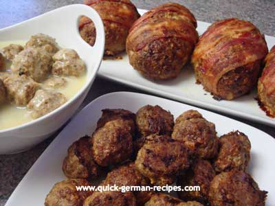 How to make meatballs like a German Oma