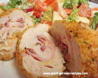 Chicken Cordon Bleu - YES ... German
