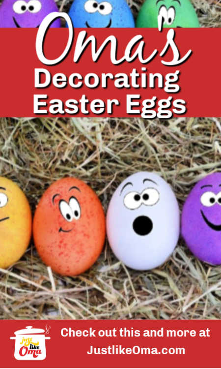 Have the kids use their markers to be unique in decorating their Easter eggs.