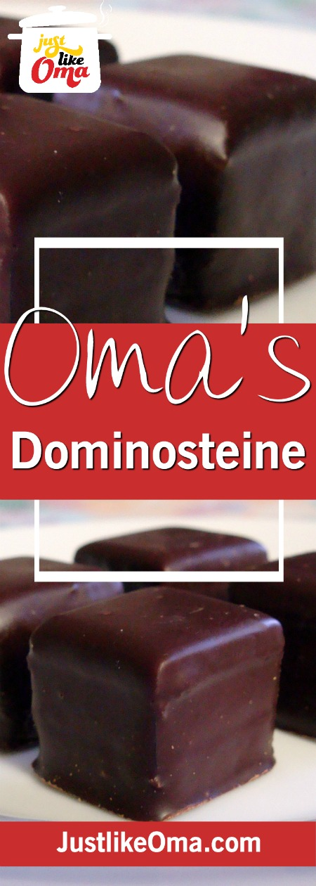 Dominosteine made Just like Oma❤️ a German Christmas treat!  Check out the recipe at https://www.quick-german-recipes.com/dominosteine.html