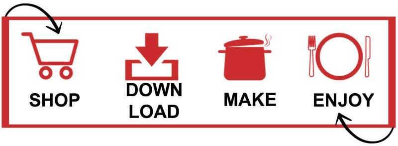 Shop, Download, Make, Enjoy
