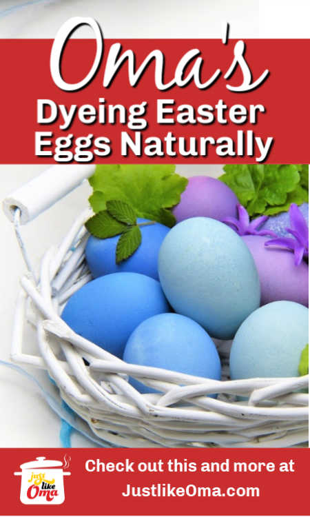 Use natural food dyes to color your easter eggs the easy way with your kids.