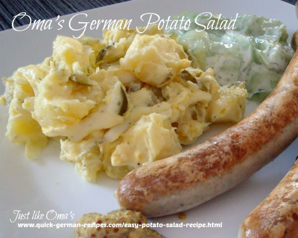 Easy German Potato Salad in 30 minutes