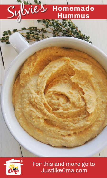 Enjoy homemade hummus with this easy recipe, using your food processor, your blender, or just by hand.