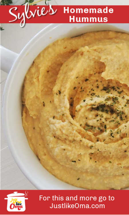 Love hummus? You've got to make this homemade hummus recipe. It's so good, you'll fall in love with it!