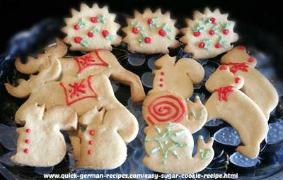Easy Sugar Cookie Recipe made Just like Oma