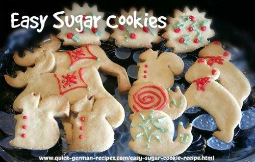 German Cookie Recipes: German Sugar Cookies