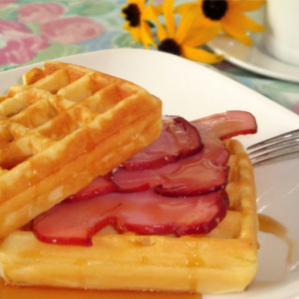Easy Waffle Recipe for Breakfast or Dessert made Just like Oma