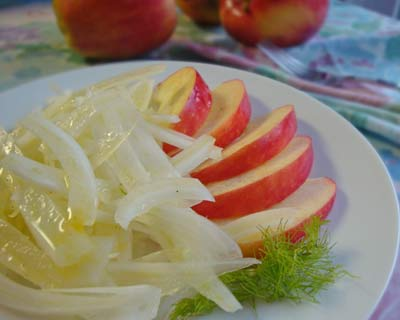 Fennel Salad - serve with crunchy apples