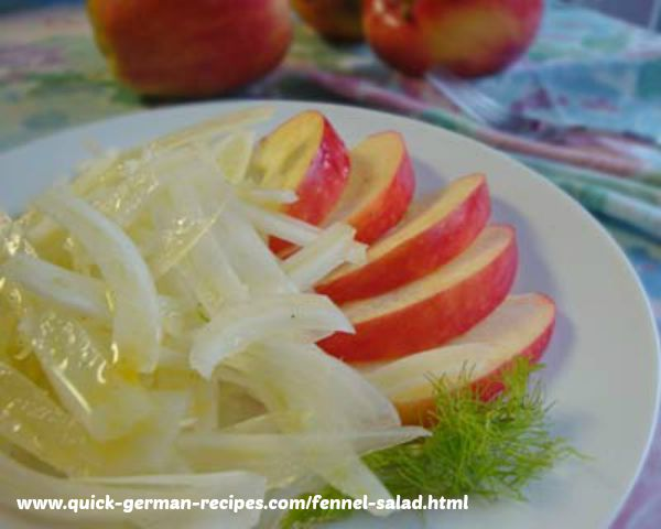 Fennel Salad .. unusual and delicious