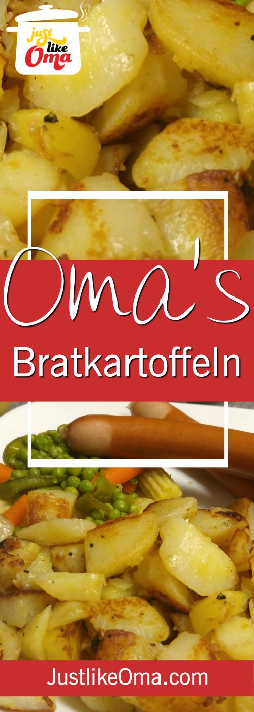 Bratkartoffeln ... German Fried Potatoes .. so traditionally delicious! My Hubby's favourite! Wunderbar made just like Oma!