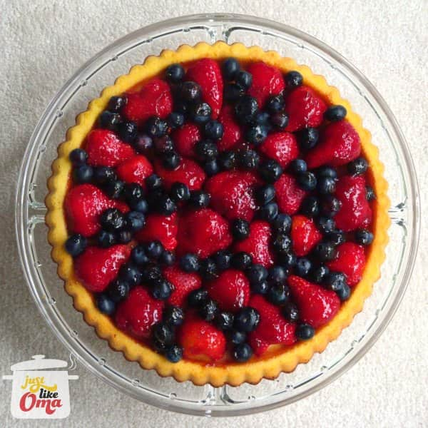 Obsttorte - Fruit Flan