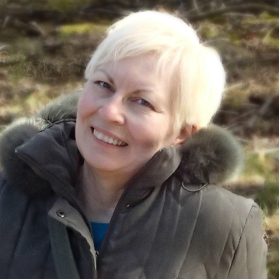 Gerhild Fulson in Iceland