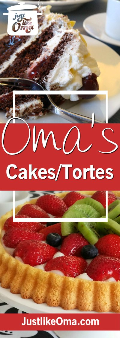 Check out the best of the best German cake recipes made Just like Oma. ❤️  Right here: https://www.quick-german-recipes.com/german-cake-recipes.html