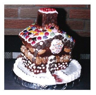 German Gingerbread House