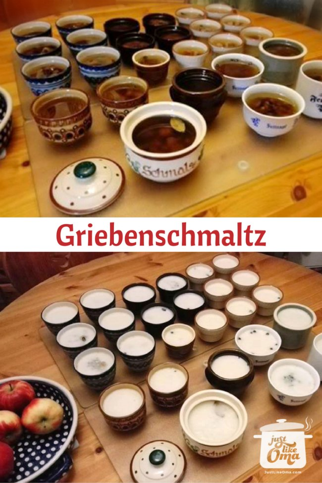Griebenschmaltz made as Christmas presents PIN