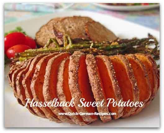 Hasselback Potatoes - Swedish treat (regular or sweet)