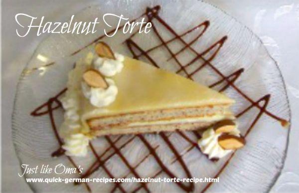 Marzipan filled cake recipe