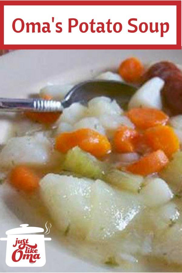 Traditional German Potato Soup