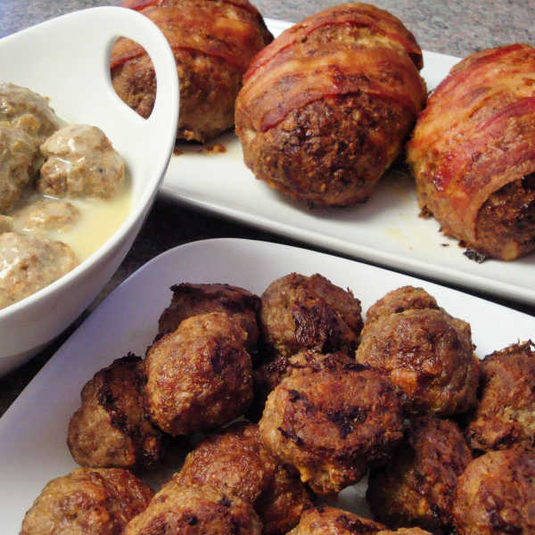 How to make Meatballs, German-style