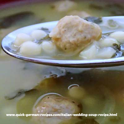 Italian Wedding Soup - not just for weddings