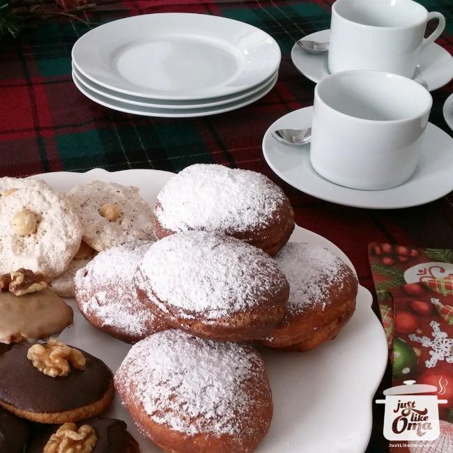 Jelly Donuts ~ Berliner Pfannkuchen ~ Krapfen