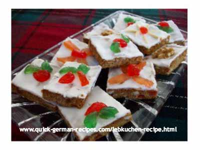 Lebkuchen - it's the German Gingerbread