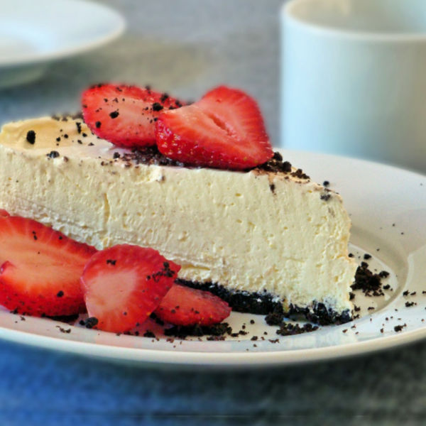 ❤️ Wonderfully delicious No Bake Lemon Cheesecake, made just like Oma!