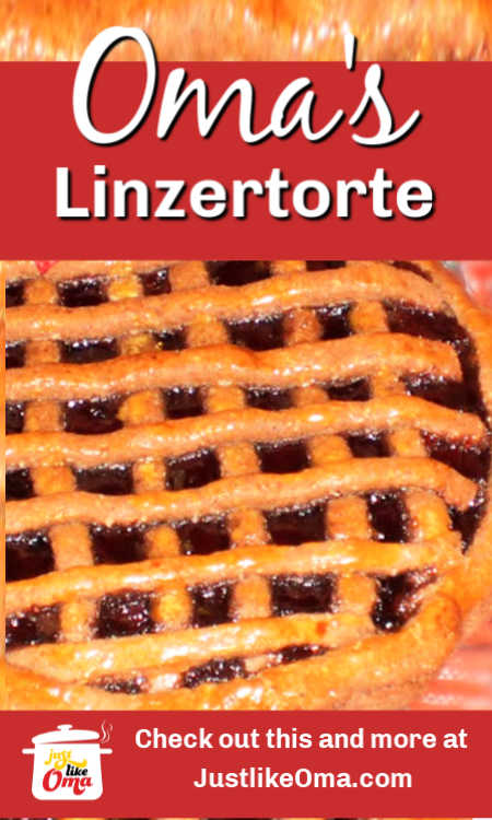 ❤️ Very traditional German Linzertorte ... special for the holidays!