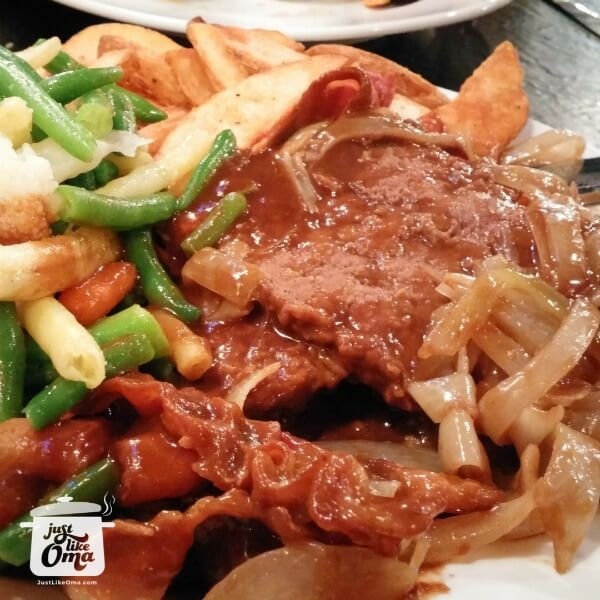 Liver & Onions (and apples)