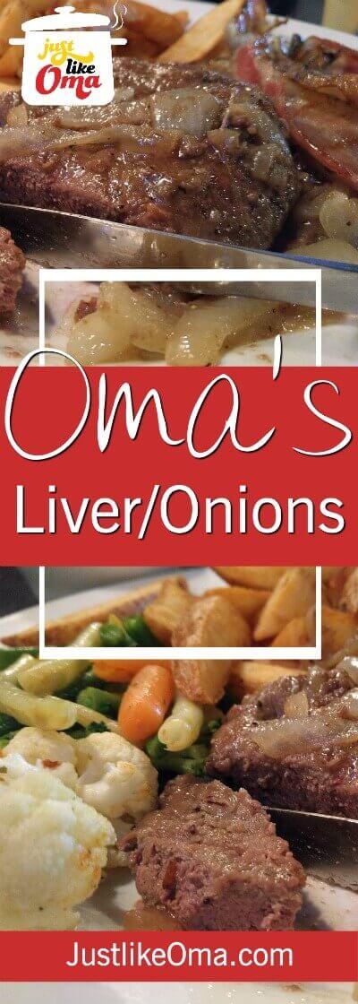 Make this German Liver and Onions recipe, aka Leber und Zwiebeln