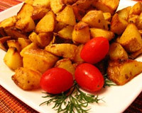 marinated roast potatoes