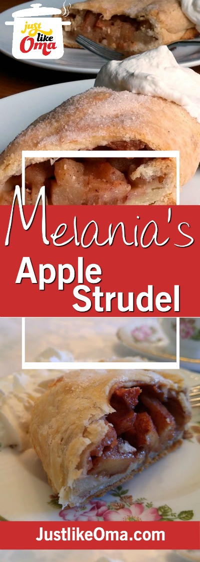 Apple Strudel ... easy? This on is! Check it out. ❤️ Recipe at https://www.quick-german-recipes.com/easy-apple-strudel.html