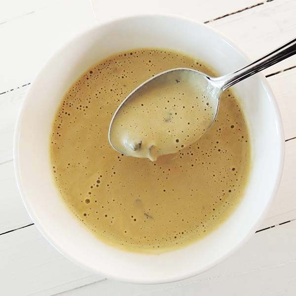 Make this yummy creamy vegan mushroom soup. Vegans and non-vegans love this one! So good!