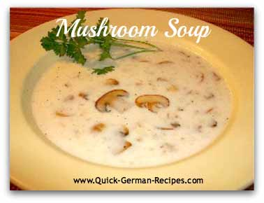 Cream of Mushroom Soup - super easy!