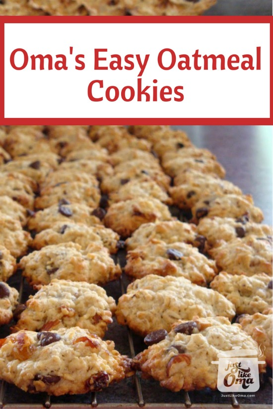 A really simple oatmeal cookie recipe that even the kids can make