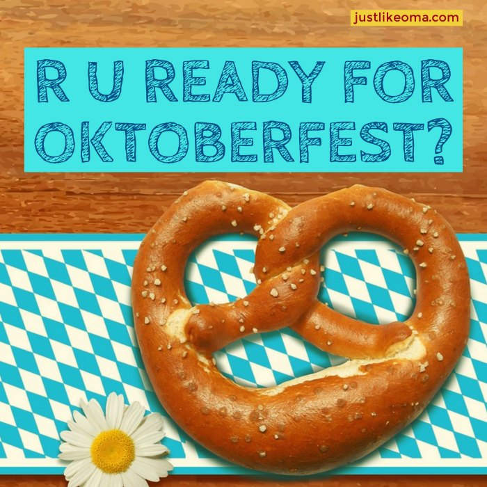 Are you ready for Oktoberfest? You'll need to check out Oma's Oktoberfest eCookbook right here: https://justlikeoma.store/product/top-10-oktoberfest/