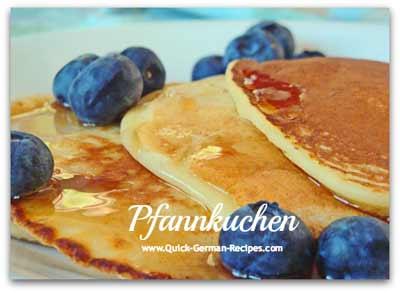 Pancakes - THE traditional, original, real German pancake!
