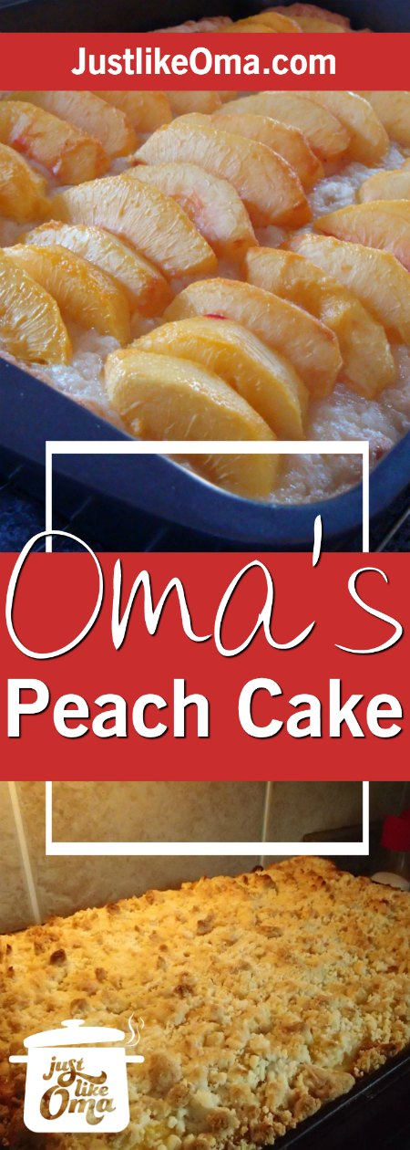 Here's an easy yeast cake to make using plums, peaches, whatever fruit you wish  ❤️http://www.quick-german-recipes.com/peach-cake-recipe.html