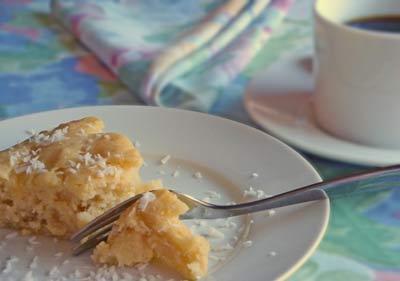 Pineapple Cake - moist deliciousness!