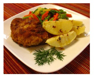 Pork Chops with Boiled Potatoes
