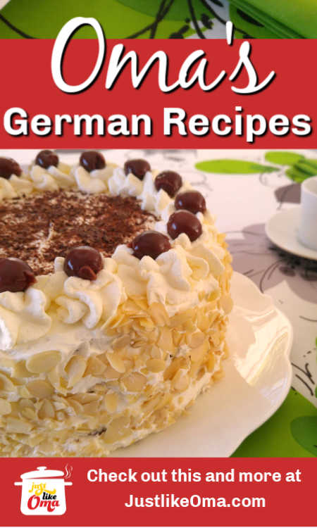 Looking for authentic German dessert recipes? You'll find Oma's BEST traditional German desserts right here!