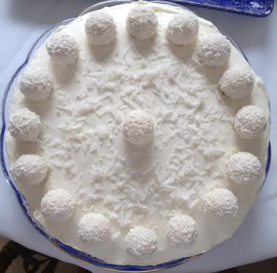 Raffaelo Torte from one of our readers