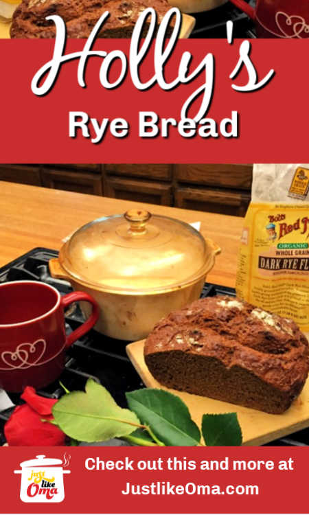 ❤️ Holly's Rye Bread is such an easy recipe to make ... is just takes a bit of time to rest ... and soon you'll be enjoying German-style Rye bread.