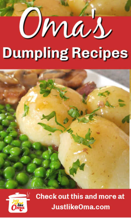 ❤️ German dumpling recipes submitted by our fans. YUM!!!!!