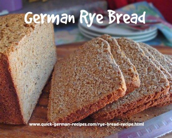 German Bread Recipe German Bread Recipes German