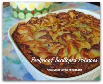 Scalloped Potatoes - easy and fool-proof