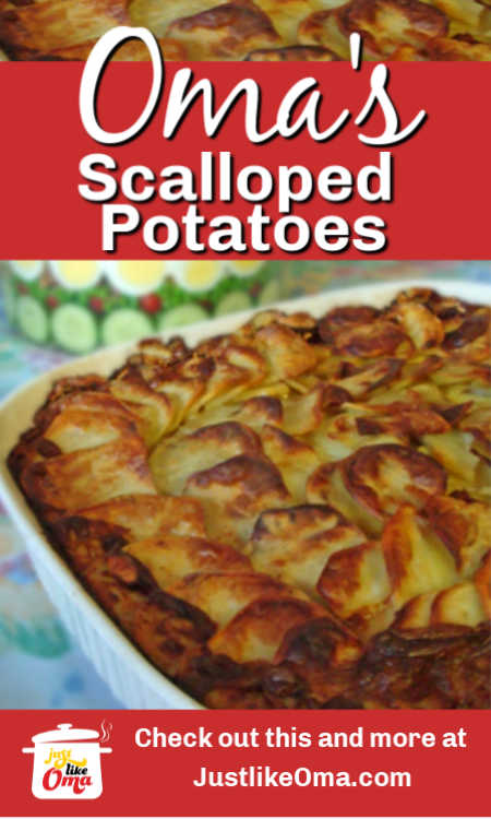❤️ How to make scalloped potatoes really easy, just like Oma