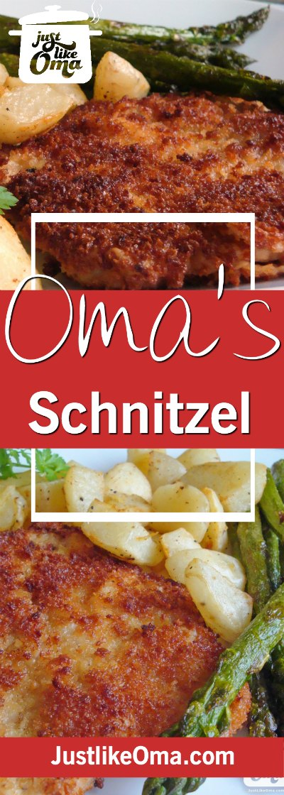 Oma's German Pork Schnitzel including a Jägerschnitzel Sauce ❤️ #schnitzel #justlikeoma #germanrecipes Check out https://www.quick-german-recipes.com/german-schnitzel-recipe.html